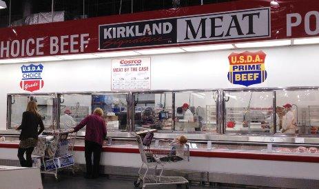 Схема работы мясного отдела в канадском гипермаркете Coscto